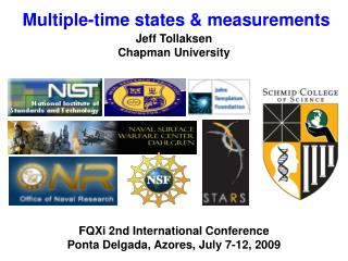 Multiple-time states & measurements