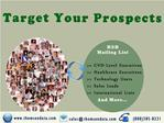 Reach Your Highly Targeted Prospects