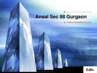 Ansal Sec 88 Gurgaon   3 BHK Apartment Gurgaon