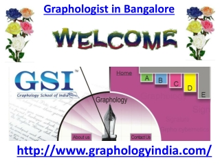 Graphologist in Bangalore