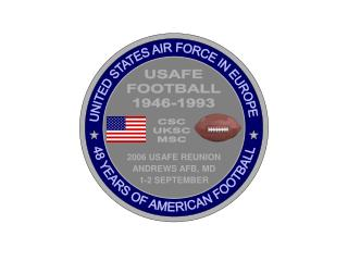 USAFE FOOTBALL 1946-1993