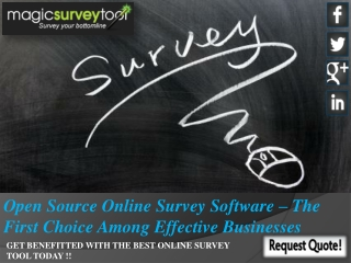 Source Online Survey Software – The First Choice Among Effec