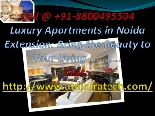 Book Luxury Apartments and Property in Noida