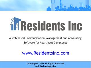residents inc - accounting features