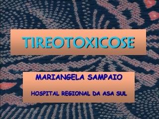 tireotoxicose