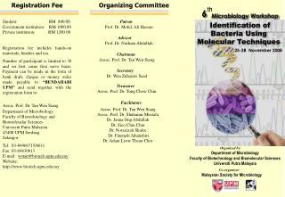 Malaysian Society for Microbiology