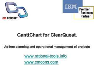 GanttChart for IBM Rational ClearQuest ver 1.3.1