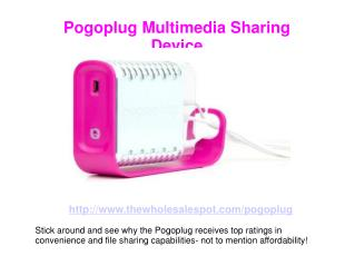 Pogoplug File Sharing