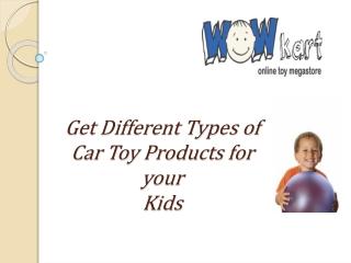 Baby CarProducts