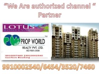 Lotus Boulevard 9910006454 3c Lotus Boulevard Noida Lotus B