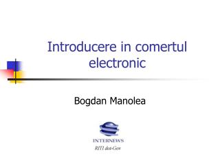 Introducere in comertul electronic