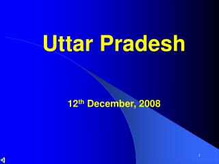 Uttar Pradesh 12 th  December, 2008