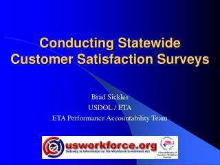 Conducting Statewide Customer Satisfaction Surveys