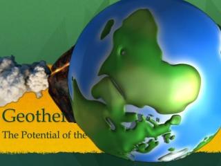 Geothermal Energy - Visual