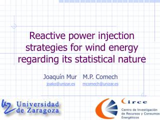 Reactive power injection strategies for wind energy regarding its statistical nature