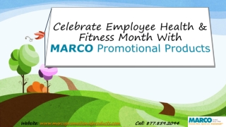 MARCOPromotionalProducts-Employee-Health-Fitness-Month