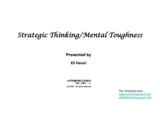 Strategic Thinking/Mental Toughness