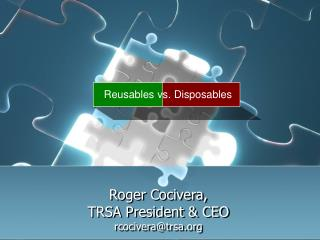 Reusables vs. Disposables