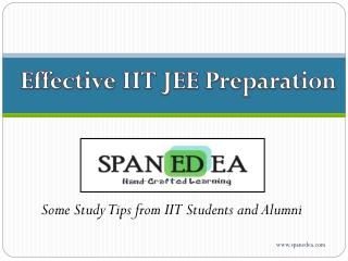 IIT JEE Preparation Tips