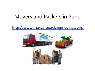 Packers and Movers Company in Pune