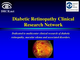 Diabetic Retinopathy Clinical Research Network
