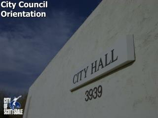 City Council Orientation