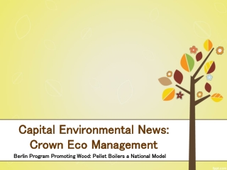 Capital Environmental News: Crown Eco Management