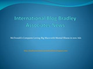 International Blog Bradley Associates News