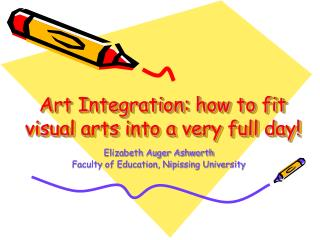 Art Integration: how to fit visual arts into a very full day