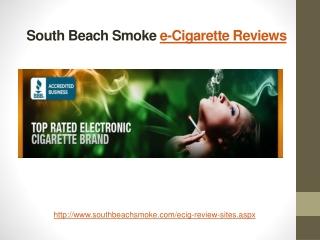 South Beach Smoke - e-Cigarette Reviews