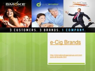 e-Cig Brands
