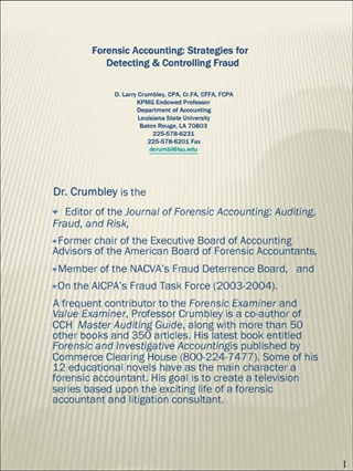 Forensic Accounting: Strategies for Detecting  Controlling Fraud ...