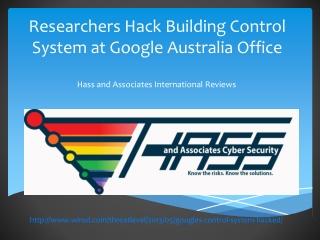 Hass and Associates International Reviews