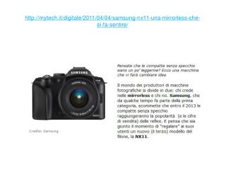 samsung nx11 review | mytech