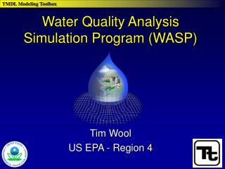 Water Quality Analysis Simulation Program (WASP)