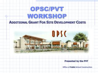 ADDITIONAL GRANT FOR SITE DEVELOPMENT COST Regulation Section 1859.76