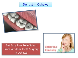 Dentist In Oshawa