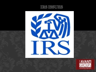 The Avanti Group news reviews: IRS issues