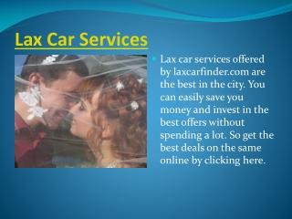 Lax Car Services