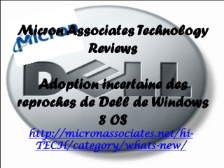 Micron Associates Technology Reviews: Adoption incertaine de