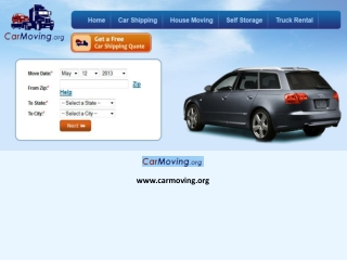 Car Moving Companies and Best Car Delivery Assistance Quotes!