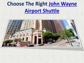 John Wayne Airport Shuttle
