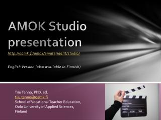 AMOK Studio 2013