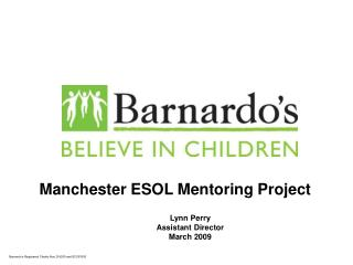 Manchester ESOL Mentoring Project