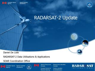 RADARSAT-2 Update