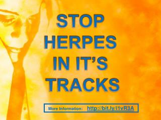 stop herpes now in it's tracks