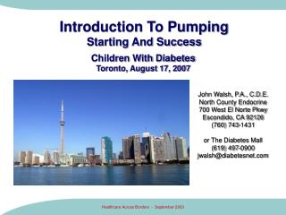 Introduction To Pumping Starting And Success