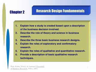 Research Design Fundamentals