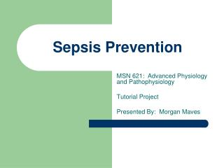 Sepsis Prevention