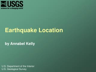 Earthquake Location